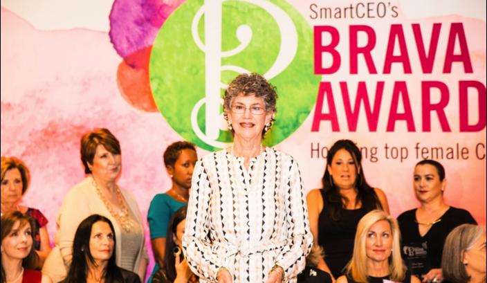 LInda McAleer named 2015 Brava Award Winner