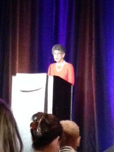 Linda McAleer speaks at WAMS 2016