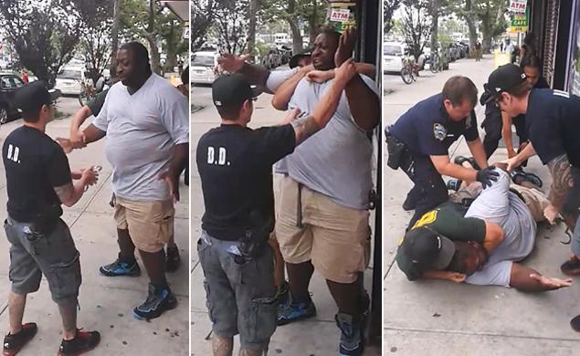 Eric Garner take down