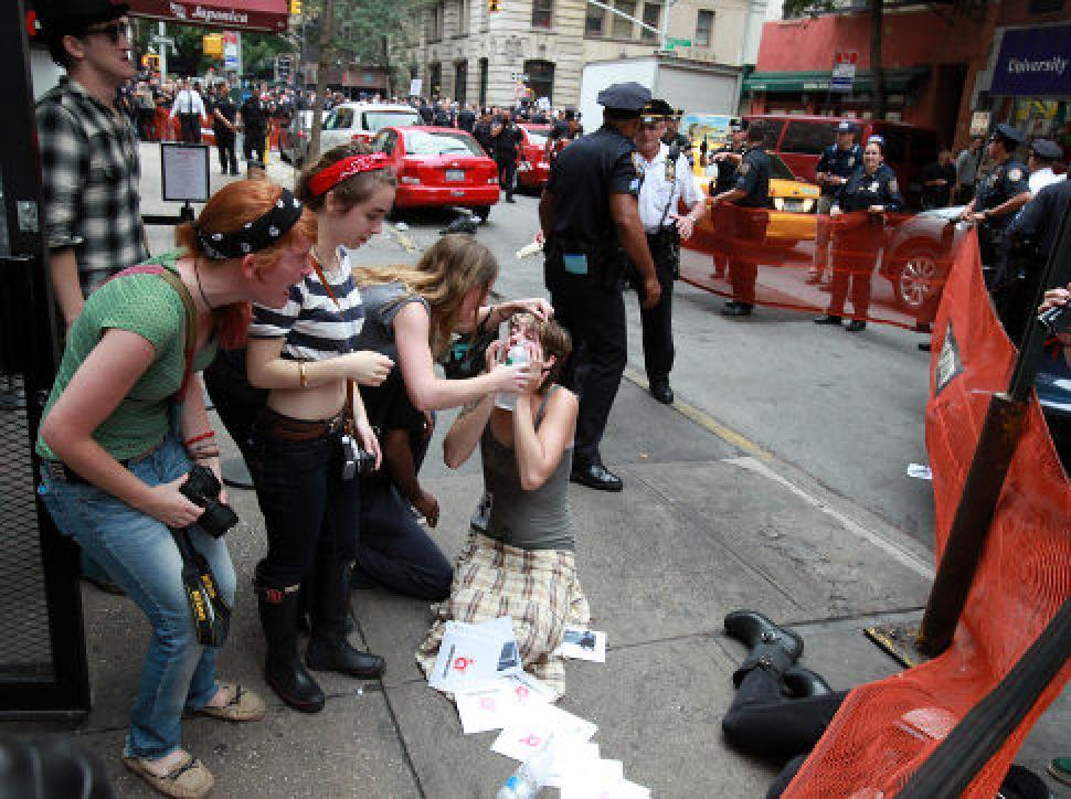 Occupy pepper spray