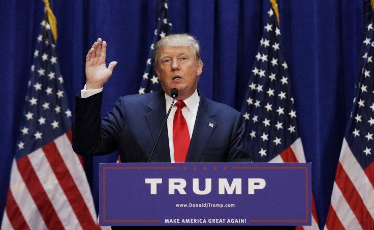 Businessman Donald Trump