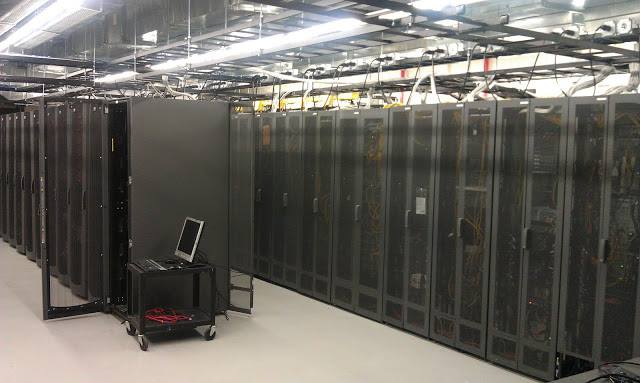 Installing Unix Server at Colocation for client.