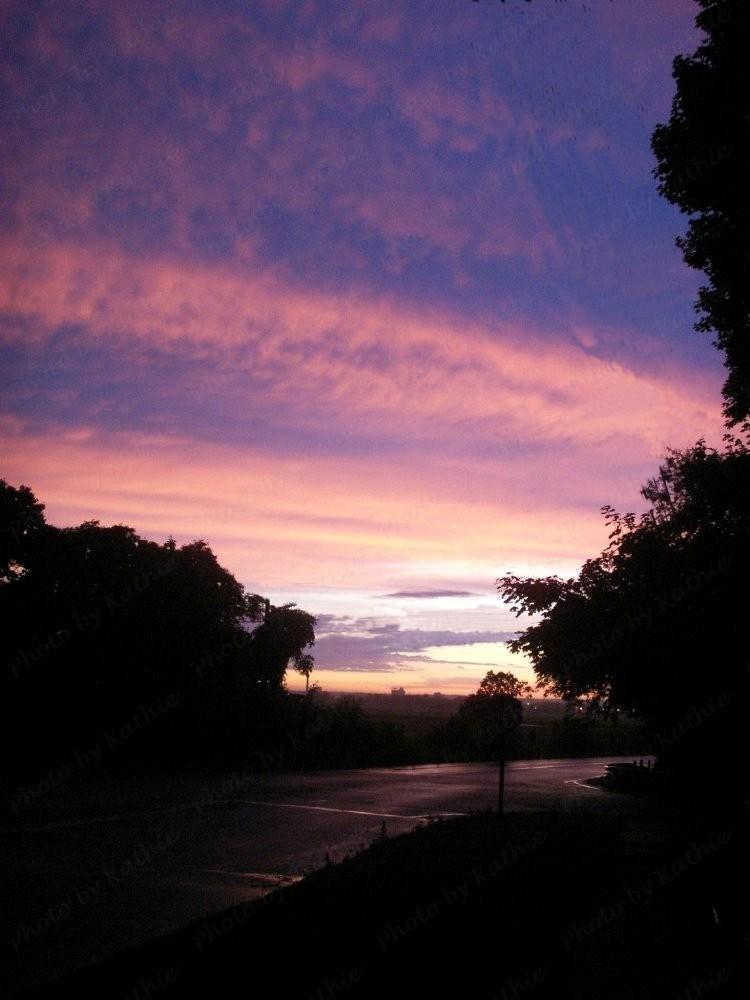 Last sunset photo taken on 6/26/2009