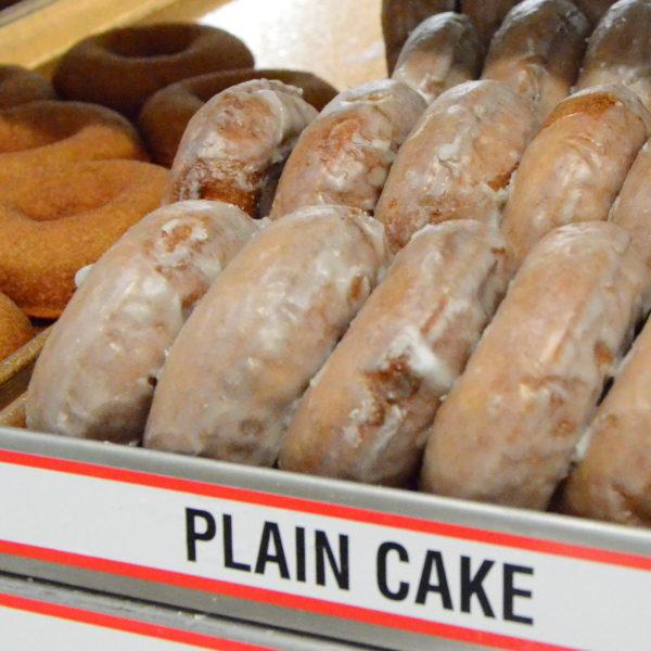 Plain Cake Donuts
