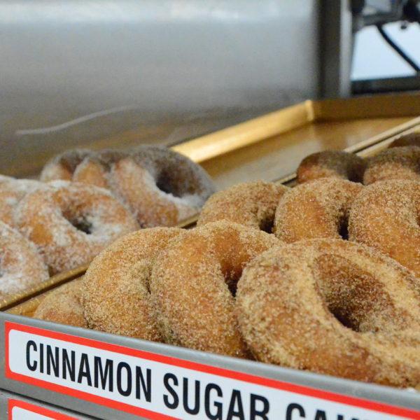 Cinnamon Sugar or Plain Sugar Cake Donut