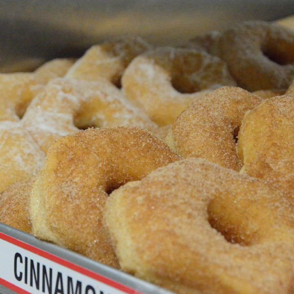 Cinnamon Sugar or Plain Sugar Donut