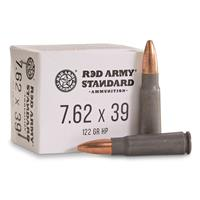 Century International Arms Red Army Standard, 7.62x39mm, HP, 122 Grain, 20 Rounds