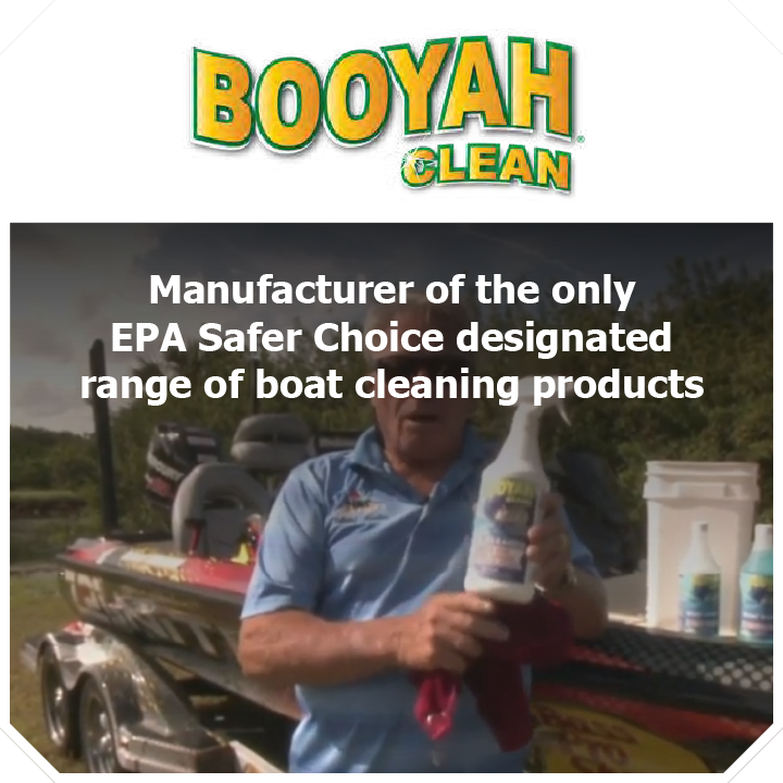 Thundercat Marketing represents Booyah Clean: Manufacturer of the only EPA Safer Choice designated range of boat cleaning products