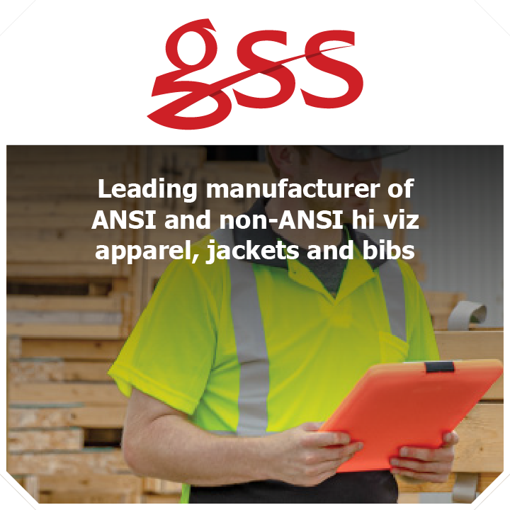 Thundercat Marketing represents GSS Safety: Leading manufacturer of ANSI and non-ANSI hi viz apparel, jackets and bibs