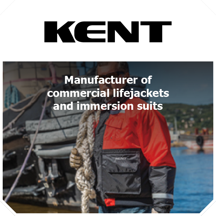 Thundercat Marketing represents Kent: Manufacturer of commercial lifejackets and immersion suits