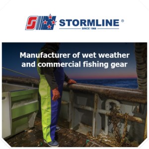 Thundercat Marketing represents Stormline: Manufacturer of wet weather and commercial fishing gear