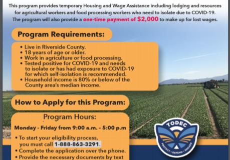 Riverside County Housing for the Harvest Program