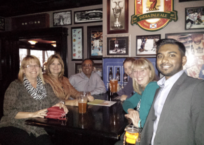 An evening out with EIA members on October 13, 2016