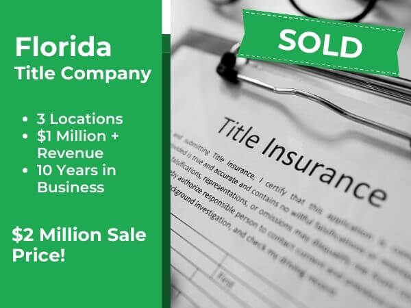 sold south florida title insurance company