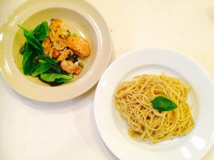 One Weekday Dinner..