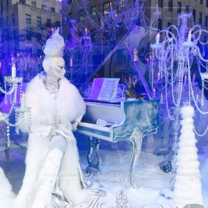 Saks Fifth Ave Holiday Window Display