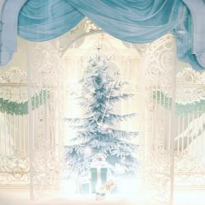 Bergdorf Goodman & Tiffany Christmas Window Display