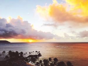 My power spot, Hawaii