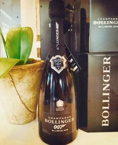 Bollinger Champagne 007  –Millesime 2009–