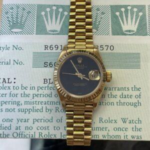 Rolex 69178 Front