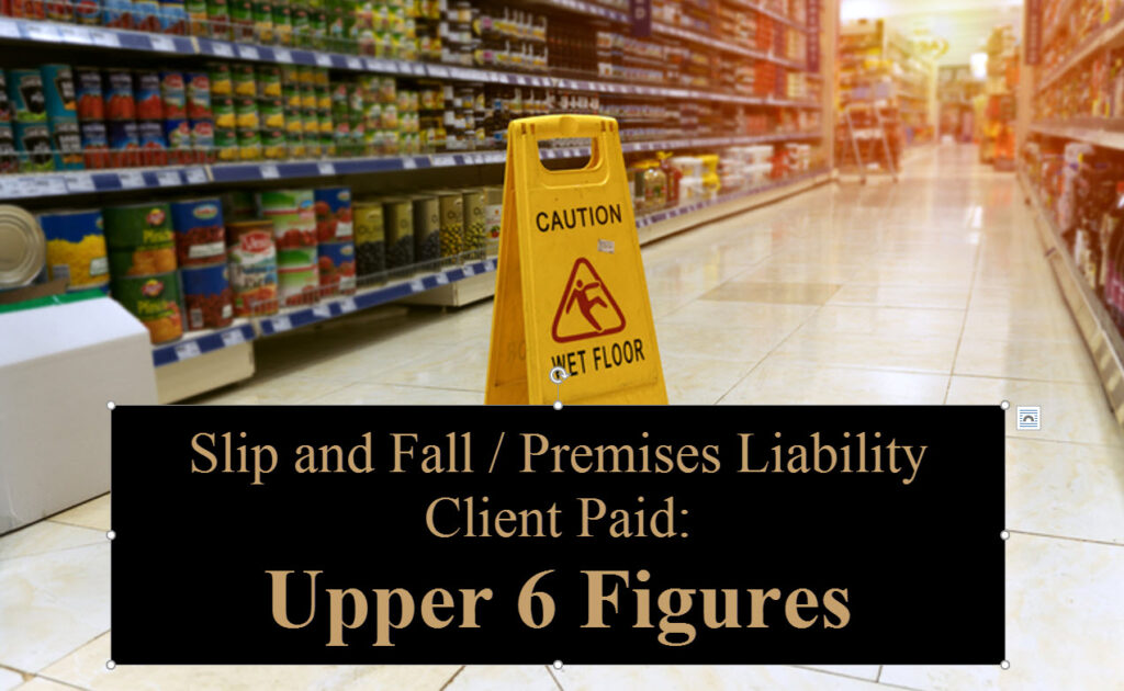 Mission Viejo Slip and Fall Attorney
