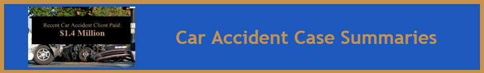 RJM Car Accident Case Summary Banner