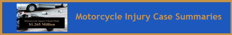 RJM Motorcycle Case Summary Banner