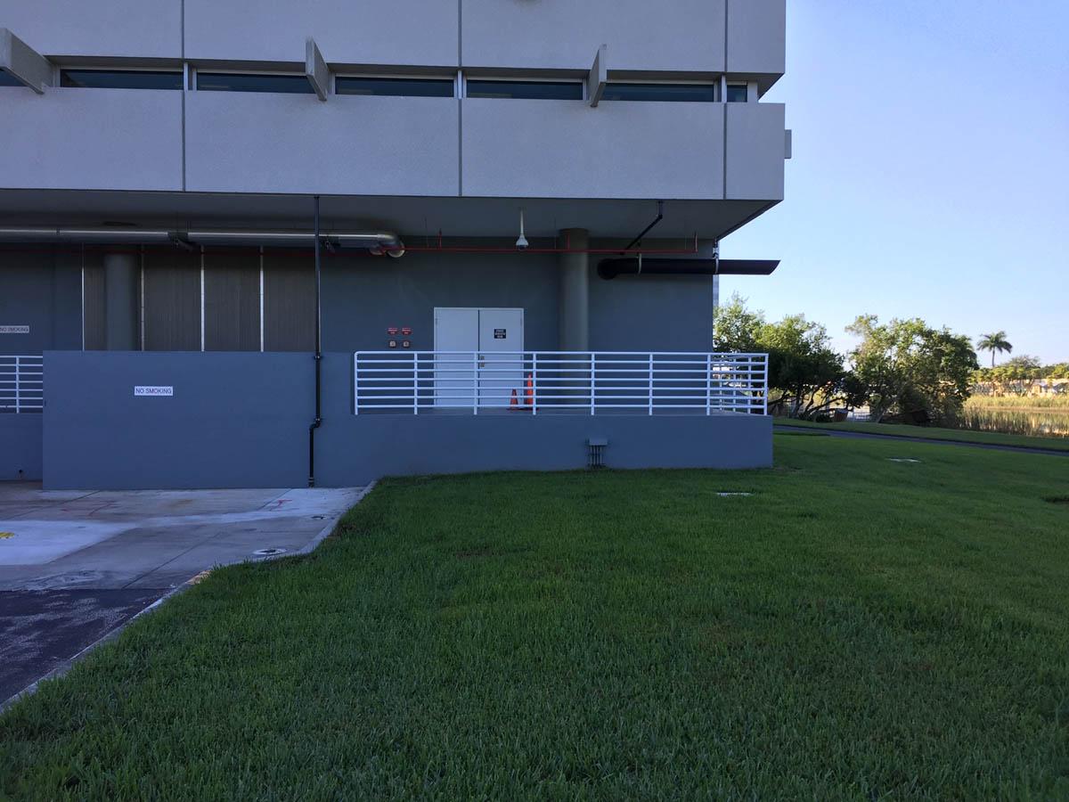 Assurant generator room