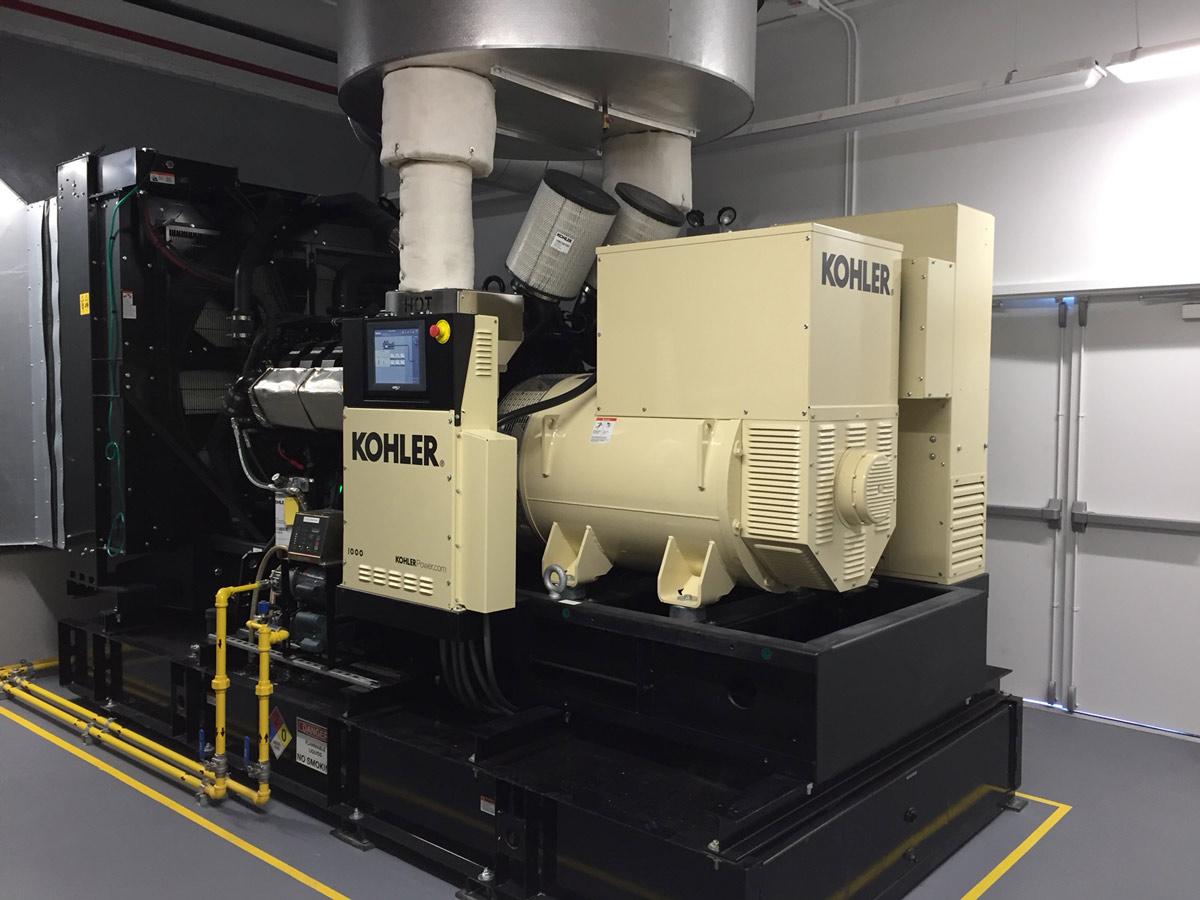 Kohler 1000kw Generator Installation