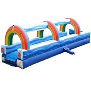 Slip and slide rental right view