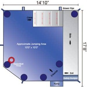 backyard module combo dimensions