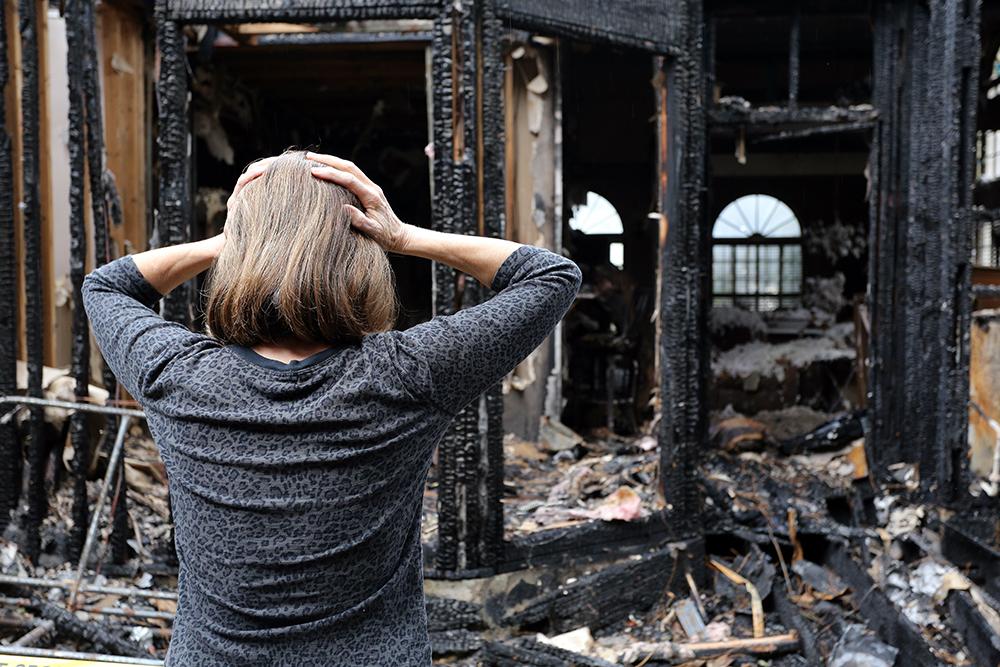 fire damage can be devastating