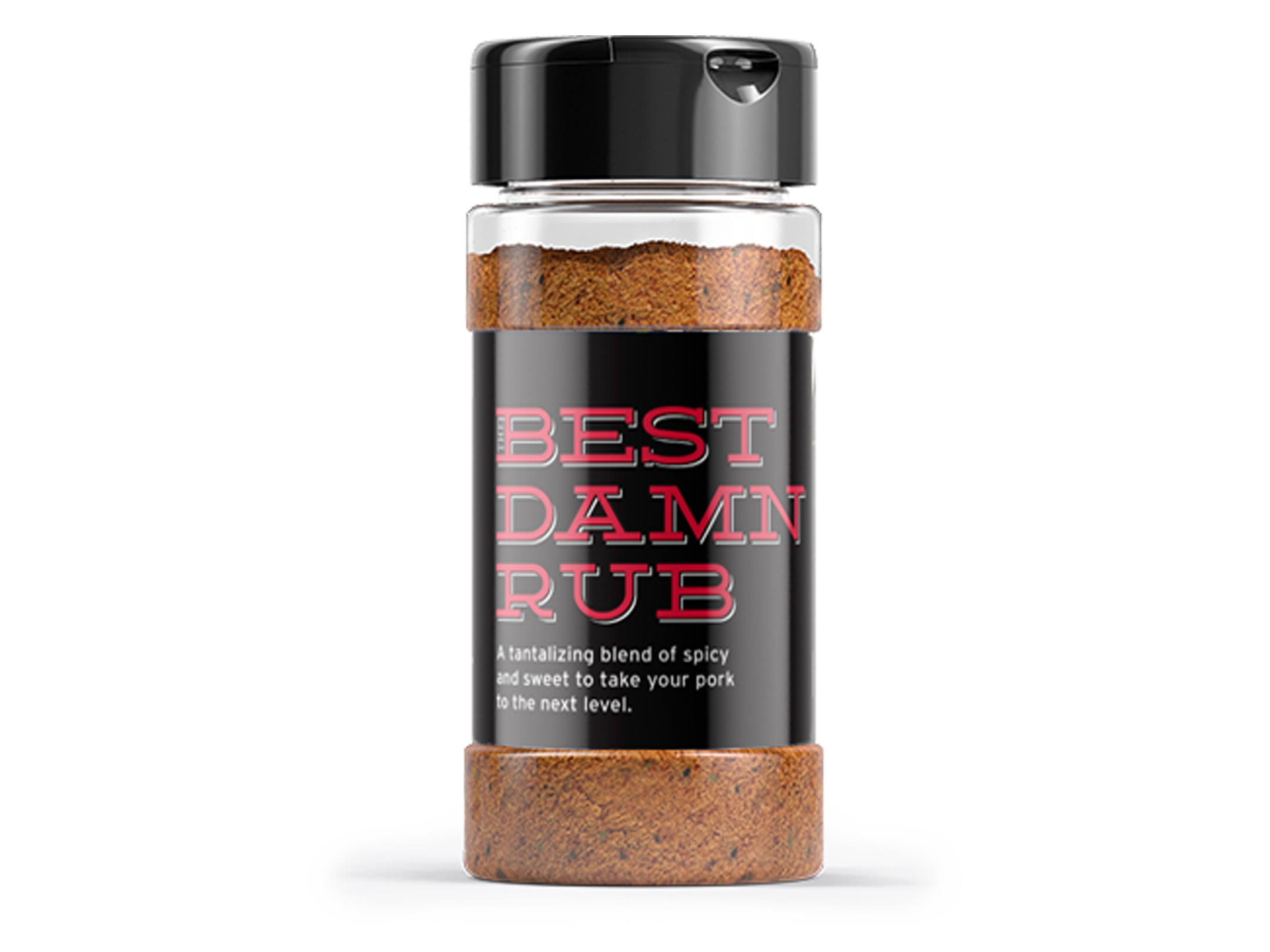 BBQ Mavens Retail Packaging Spice Jar