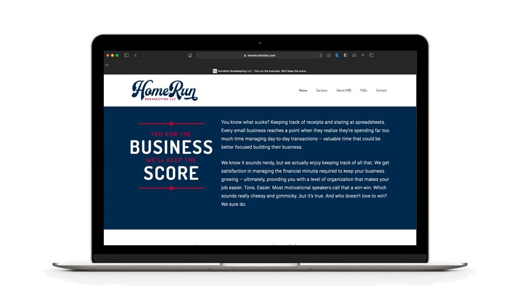 HomeRun Bookkeeping Apparel