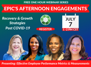 July 7 Webinar: Recovery & Growth series flyer