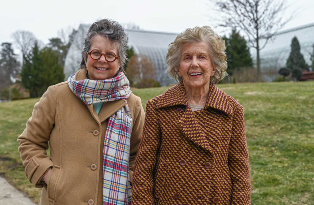 Ellen Sole and Marjorie Pease Applegate