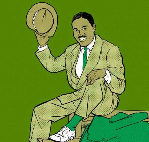 Illustration of Ezzard Charles