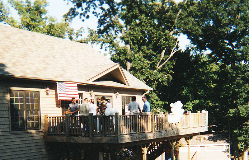 Norge Club House Porch