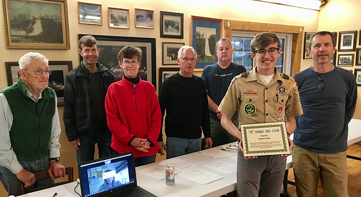 Norge Board with Eagle Scout
