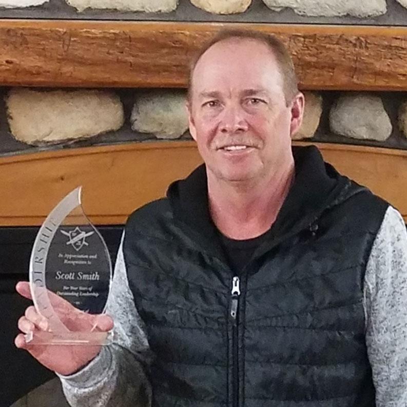 Scott Smith, President, Norge Ski Club