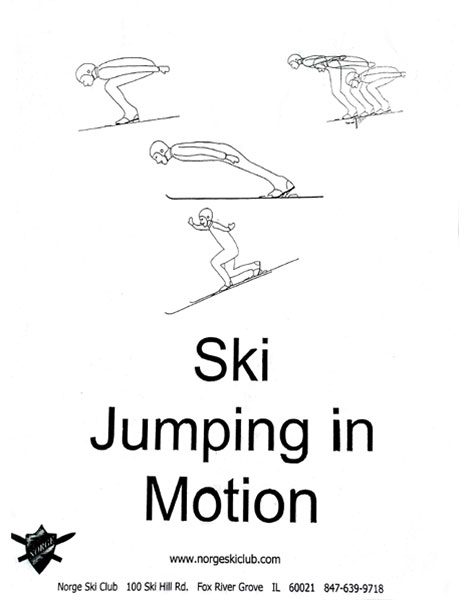Ski Jumping in Motion