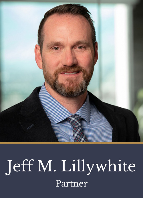 Pictured is attorney Jeff M. Lillywhite, a partner at Kimball Anderson who focuses on Intellectual Property law.