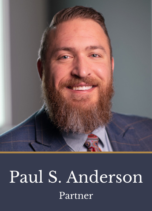 Pictured is attorney Paul S. Anderson, a partner at Kimball Anderson who focuses on Business and Real Estate law.