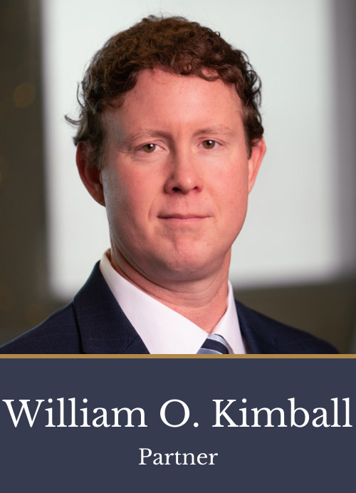 Pictured is attorney William O. Kimball, a partner at Kimball Anderson who has experience in multiple practice areas.