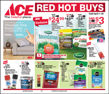 Red Hot Buys for Price & Gannon Ace Hardware in Centreville, MD