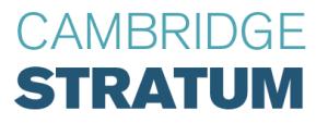 Cambridge Stratum Logo