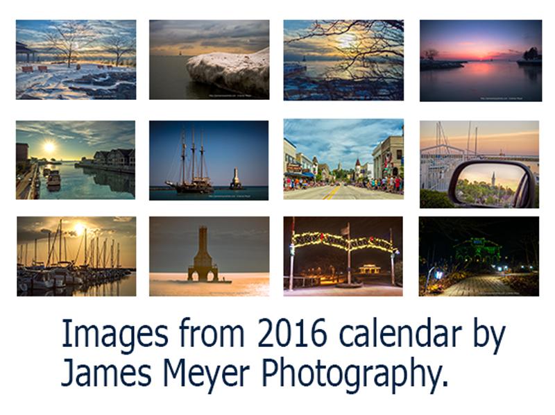 2016 Port Washington calendar images
