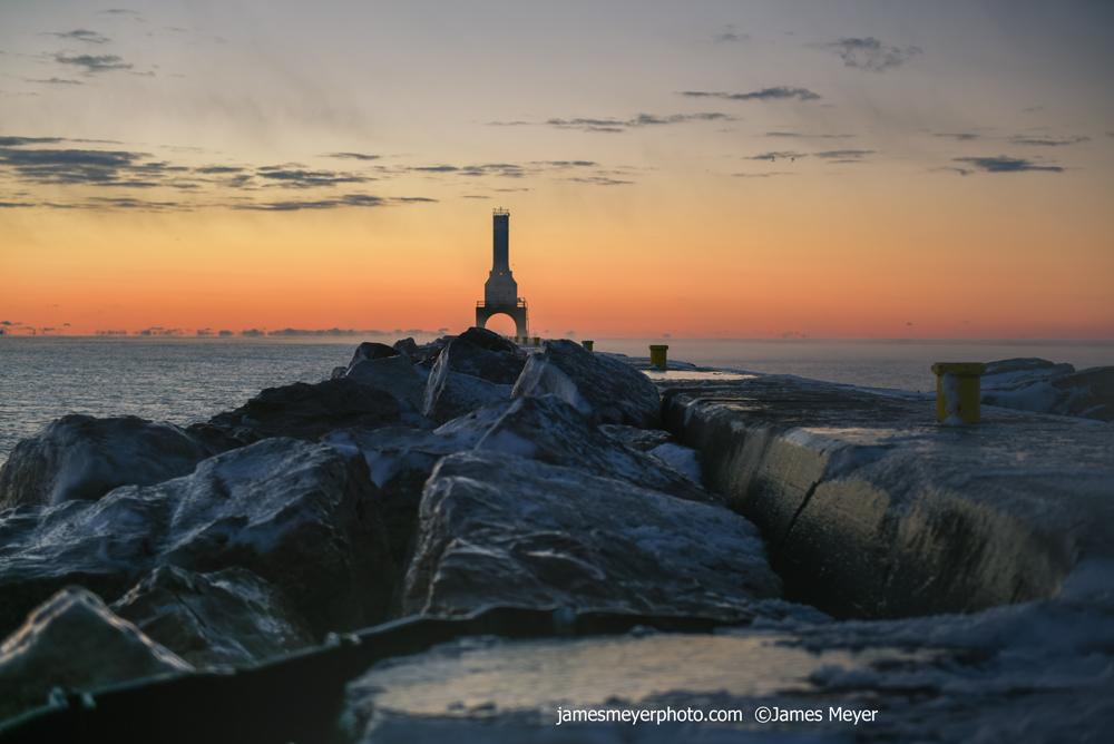 November Sunrise in Port Washington WI II