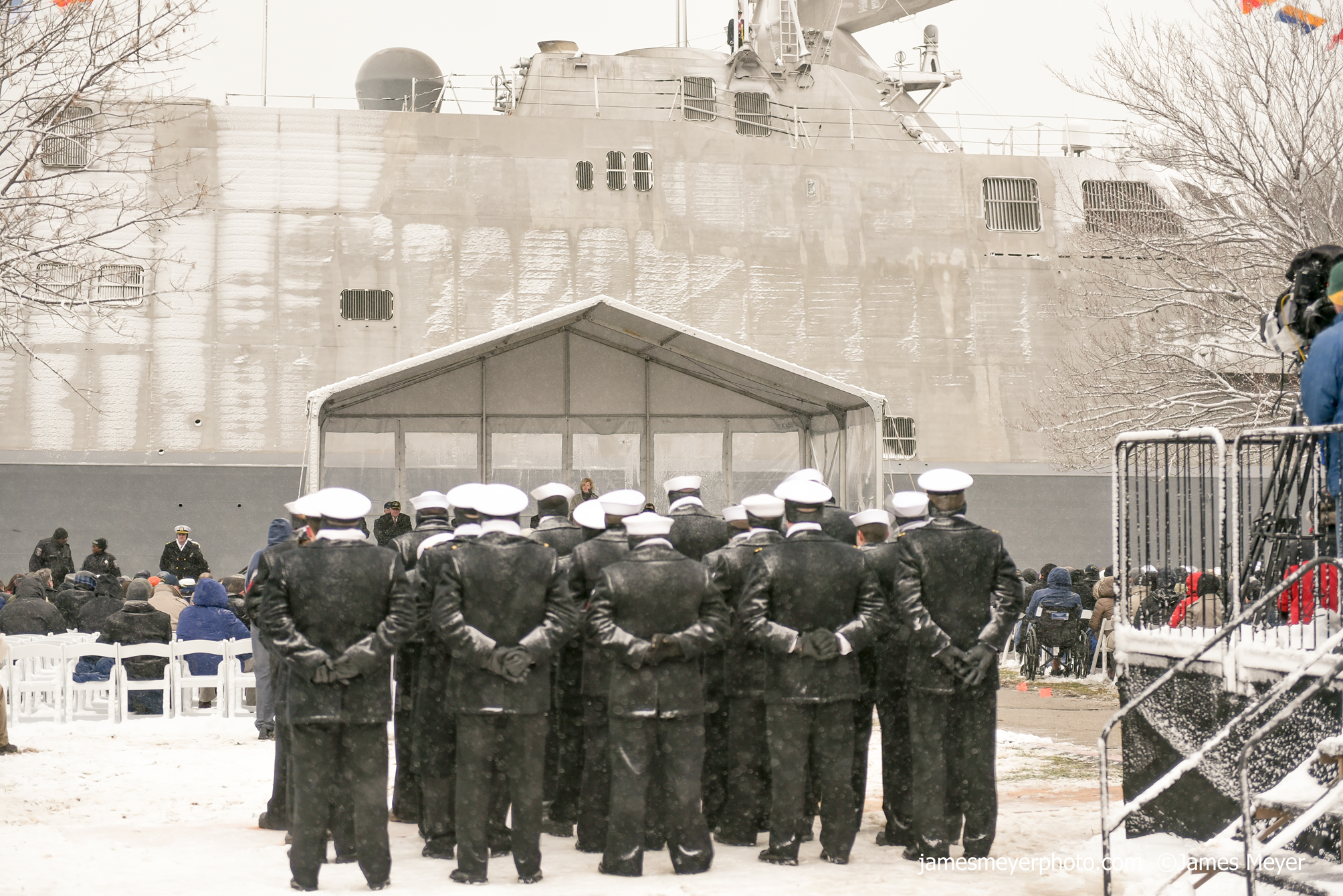 USS Milwaukee Commissioning Event