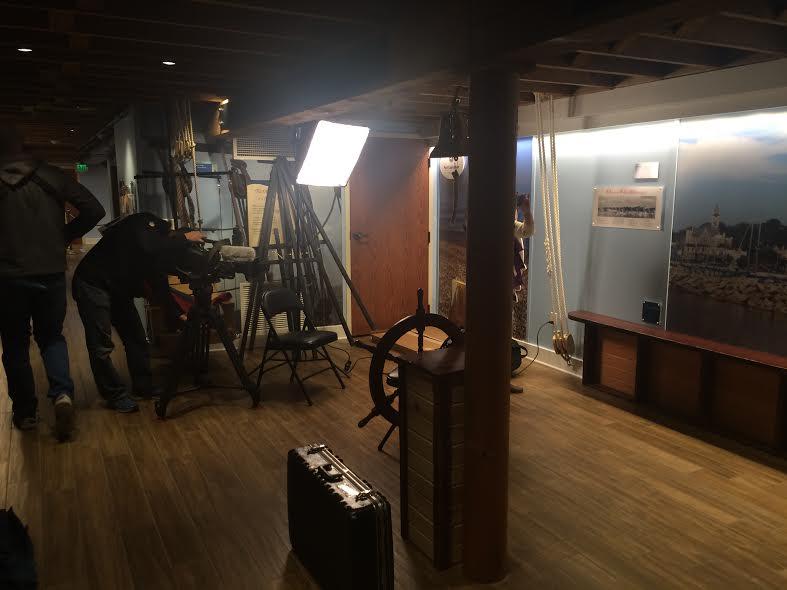 James Meyer interview set up